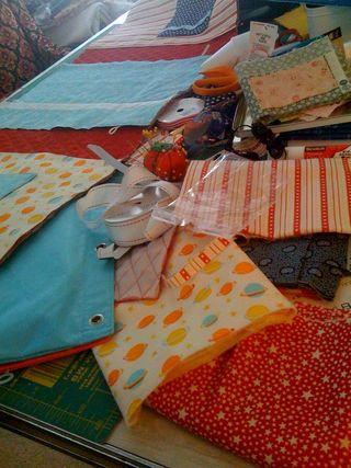 Jan sewing
